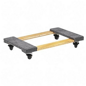 Carpeted dolly umbergers of fontana for Motorized trailer dolly rental